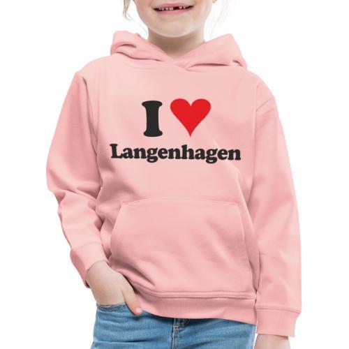 I Love Langenhagen - Kinder Premium Hoodie