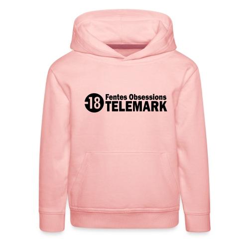 telemark fentes obsessions18 - Pull à capuche Premium Enfant