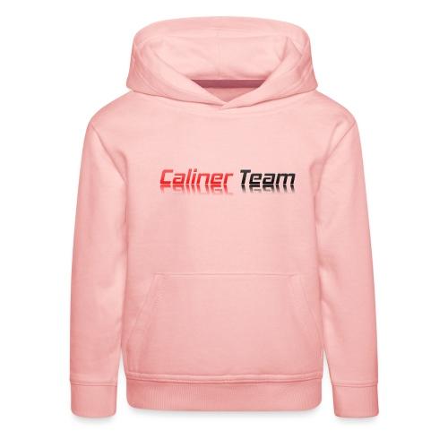 Caliner Team Tazza - Felpa con cappuccio Premium per bambini