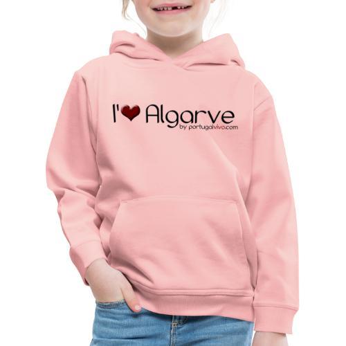 I Love Algarve - Pull à capuche Premium Enfant