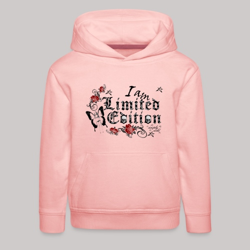simply wild limited Edition on white - Kinder Premium Hoodie