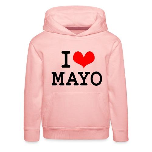 I Love Mayo - Kids' Premium Hoodie