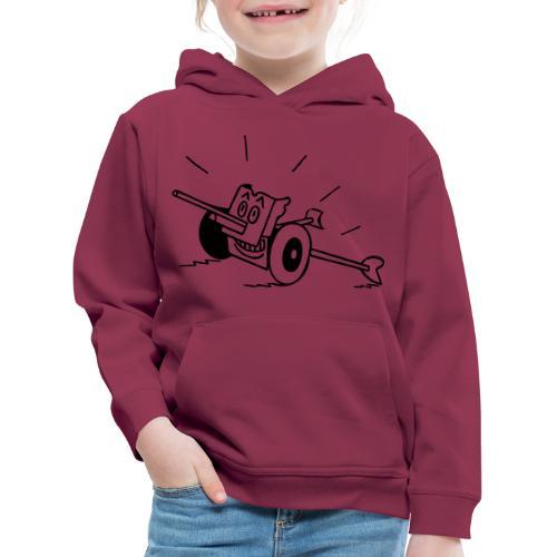 Panzerabwehrkanone - Kinder Premium Hoodie