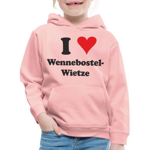 I Love Wennebostel-Wietze - Kinder Premium Hoodie