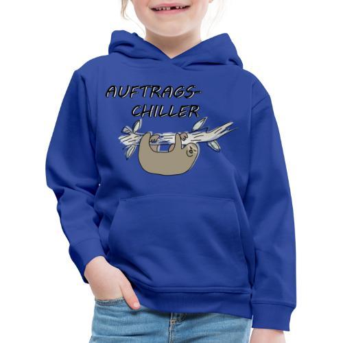 Faultier Auftragschiller - Kinder Premium Hoodie