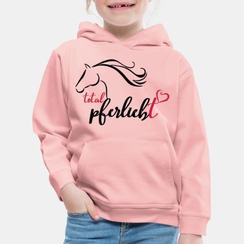 total pferliebt, Pferdeliebe - Kinder Premium Hoodie