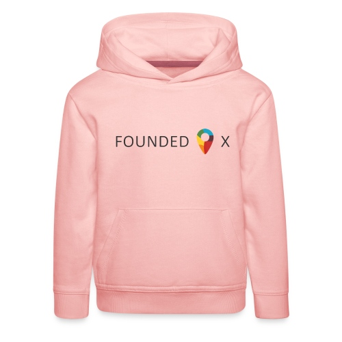 FoundedX logo png - Kids' Premium Hoodie
