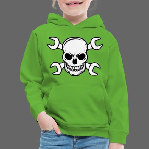 MEKKER SKULL - Premium hættetrøje til børn