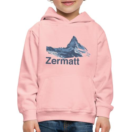 Zermatt Switzerland - Kinder Premium Hoodie