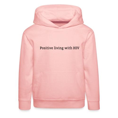 positiveliving - Kinderen trui Premium met capuchon