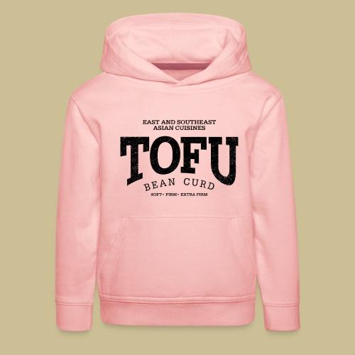 Tofu (black oldstyle) - Kinder Premium Hoodie