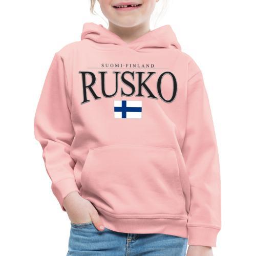 Suomipaita - Rusko Suomi Finland - Lasten premium huppari