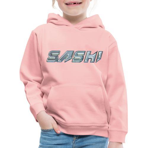 SASH! Logo 1 - Kids' Premium Hoodie