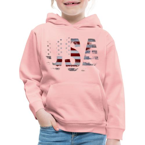 USA - Pull à capuche Premium Enfant