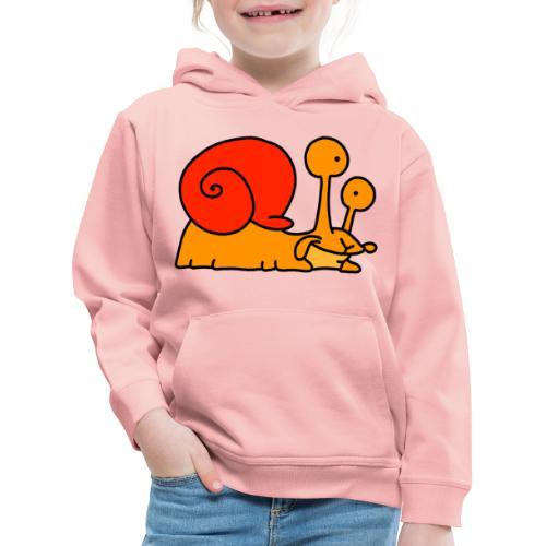 Schnecke Nr 97 von dodocomics - Kinder Premium Hoodie