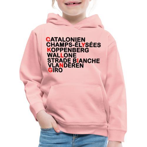 CYKLING - Premium hættetrøje til børn