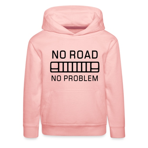 No Road, No Problem - Autonaut.com - Kids' Premium Hoodie