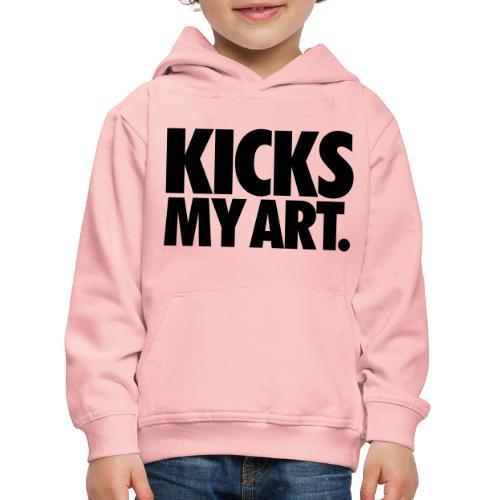 Kicks My Art By MizAl - Pull à capuche Premium Enfant