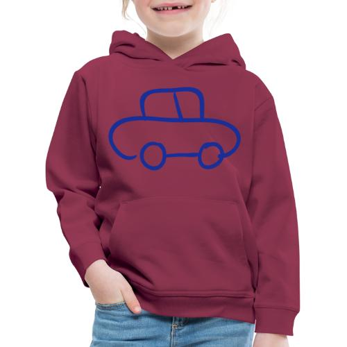 Van Line Drawing Pixellamb - Kinder Premium Hoodie