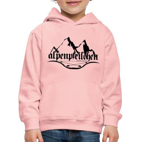 Alpenpfeilchen - Logo - Kinder Premium Hoodie