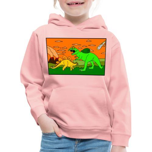 Schneckosaurier von dodocomics - Kinder Premium Hoodie
