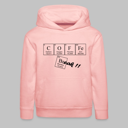Coffee Break - Kids' Premium Hoodie