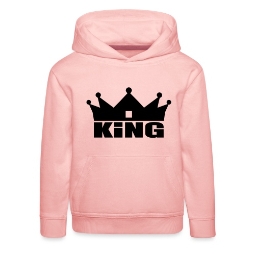 I'm the King - Pull à capuche Premium Enfant