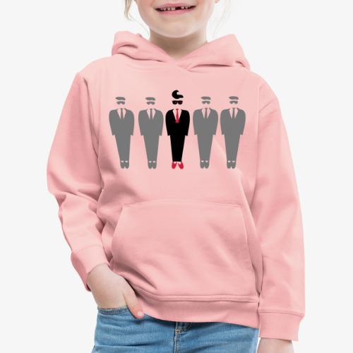 Dare to be different design by Patjila - Kids' Premium Hoodie