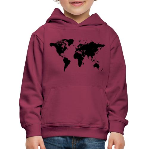 World Map - Kinder Premium Hoodie