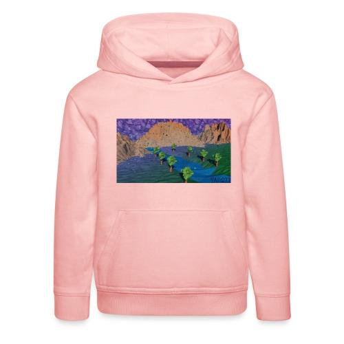 Silent river - Kids' Premium Hoodie