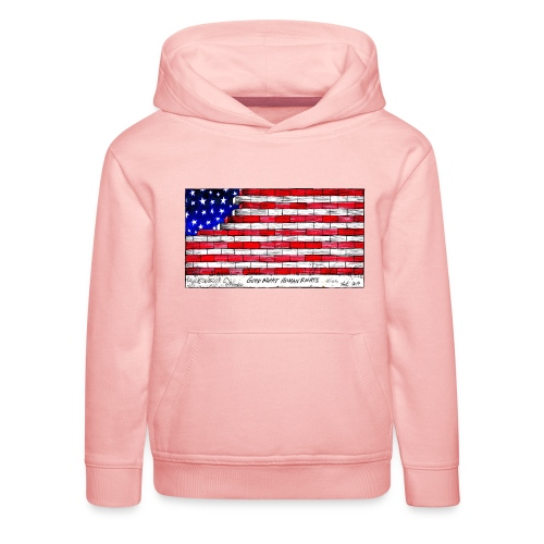 Good Night Human Rights - Kids' Premium Hoodie