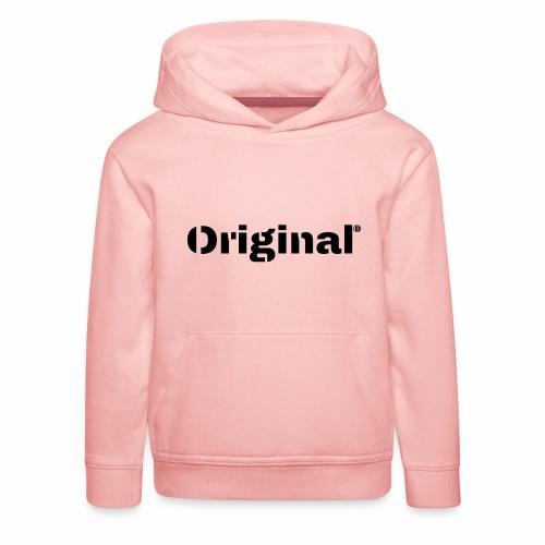 Original, by 4everDanu - Kinder Premium Hoodie