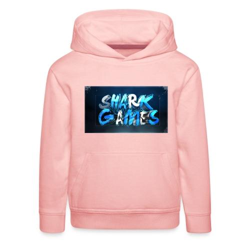 SharkGames - Felpa con cappuccio Premium per bambini