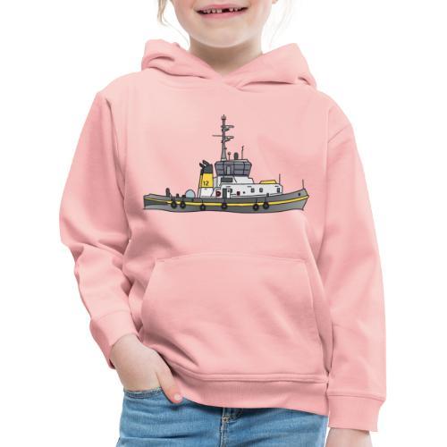 Schlepper Schleppschiff c - Kinder Premium Hoodie
