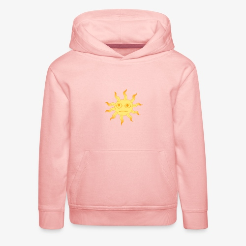 soleil - Pull à capuche Premium Enfant