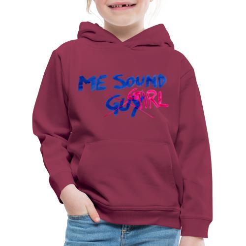 me = sound girl - Kids' Premium Hoodie