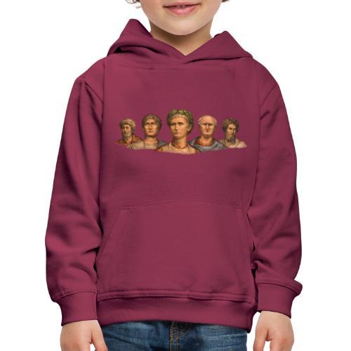 Popiersia cesarskie | Imperial busts - Bluza dziecięca z kapturem Premium
