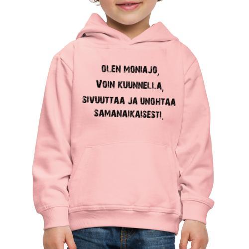 Multitasking - Kinderen trui Premium met capuchon