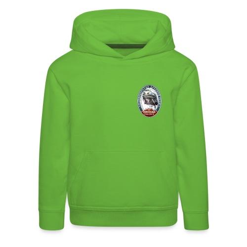 Logo avant + dos - Pull à capuche Premium Enfant