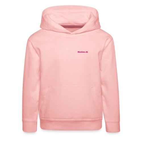 Cute Flamingo - Premium hættetrøje til børn