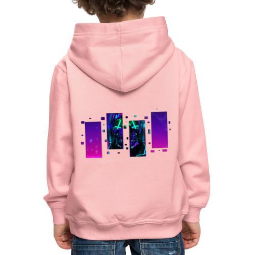 CyberDemate - Pull à capuche Premium Enfant