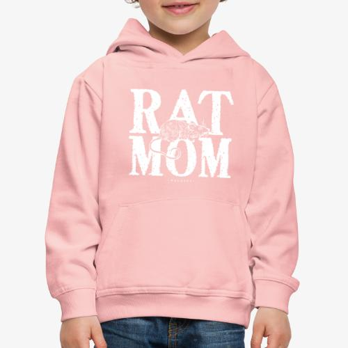 Rat Mom White - Lasten premium huppari