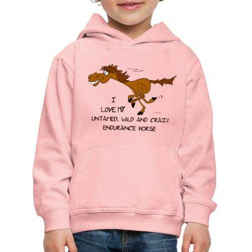 Endurance Horse - Kinder Premium Hoodie