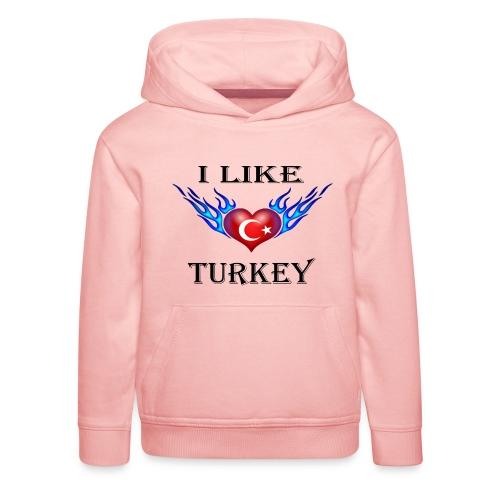 I Like Turkey - Kinder Premium Hoodie