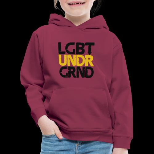 LGBT UNDERGROUND - Kids' Premium Hoodie