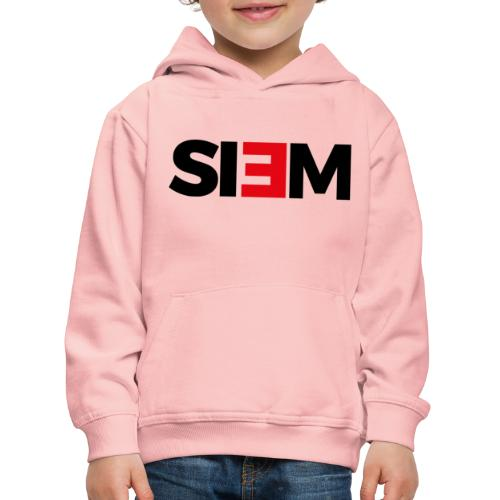 siem_zwart - Kinderen trui Premium met capuchon