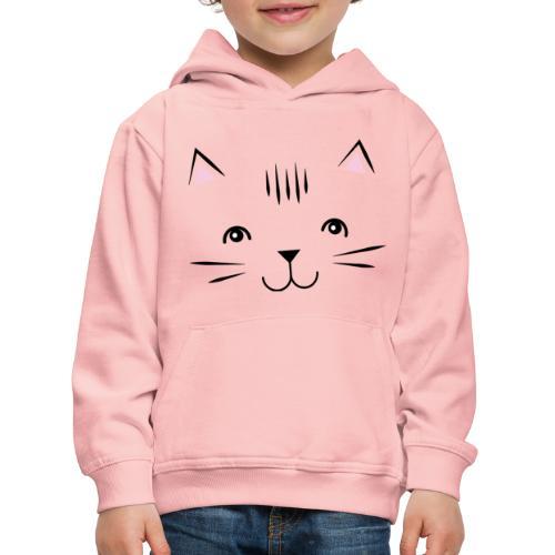 Kitty Cute Cat - Zensitivity - Kinderen trui Premium met capuchon
