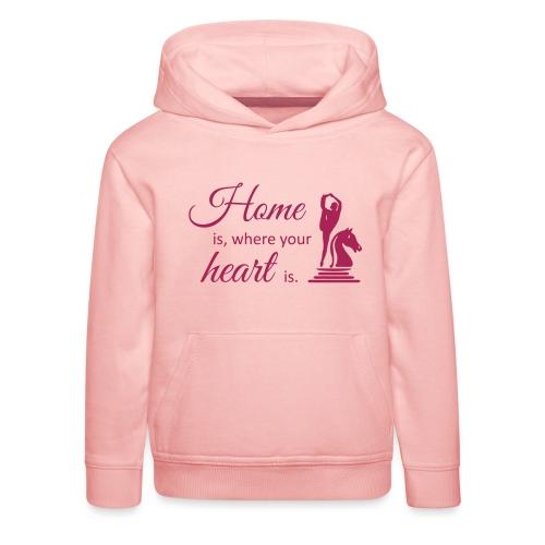 Homeiswhereyourheartis EDITION - Kinder Premium Hoodie