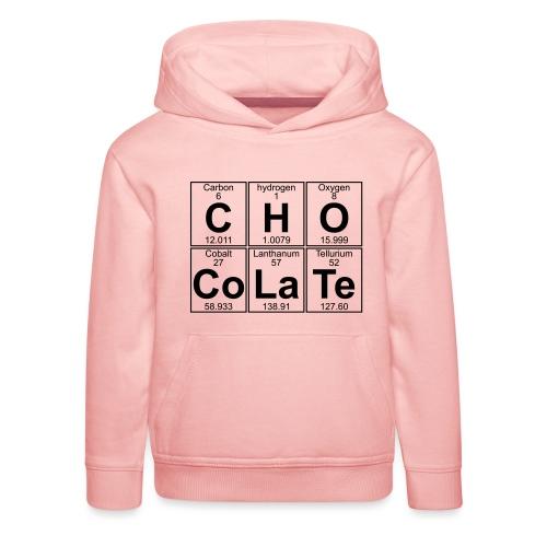 C-H-O-Co-La-Te (chocolate) - Full - Kids' Premium Hoodie