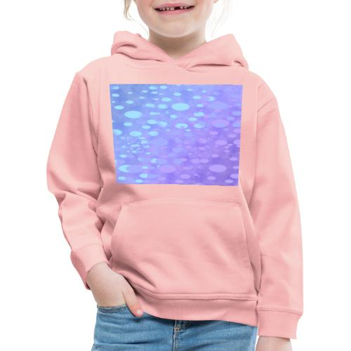wassertropfen in der regenbogenpfütze - Kinder Premium Hoodie